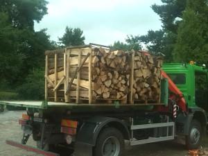 Rozvoz dřeva